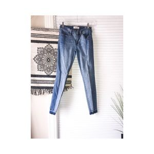 Size 23 pacsun stripped ankle jeggings